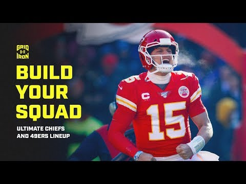 Past And Present NFL Stars Build Their Ultimate Chiefs And 49ers Squad