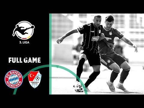 FC Bayern Munich II Vs. Türkgücü Munich 2-2 | Full Game | 3rd Division 2020/21 | Matchday 1