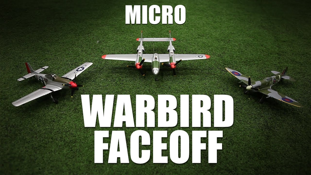 Flite Test - Micro Warbird Faceoff - REVIEW - RCSparks Studio