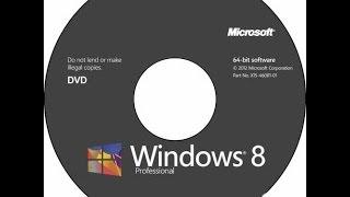 Как установить Windows 8 с CD/DVD диска