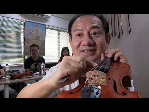 2, How Violin Bridge Effect Sound, Summer Workshop Malaysia 2017