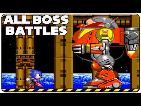 Sonic The Hedgehog 2 All Bosses