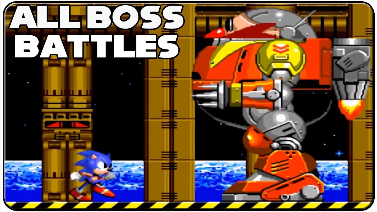 Sonic The Hedgehog 2 All Bosses #1