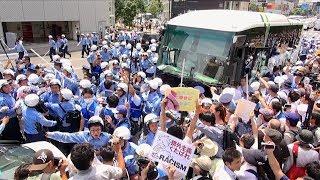 2017.7.16川崎ヘイトデモへのカウンター