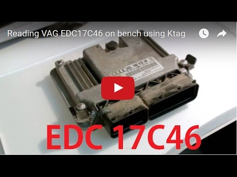 Reading VAG EDC17C46 on bench using Ktag