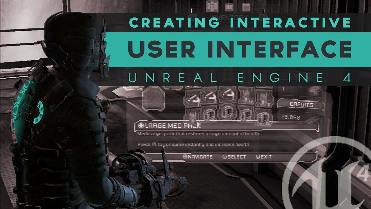 Developing Interactive UI - #1 Unreal Engine 4 User Interface Tutorial  Series