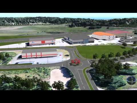 Väg 73, ny trafikplats Vega och ombyggnad av trafikplats Handen   Trafikverket