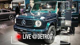 Nuova Mercedes Classe G, l'highlander dei 4x4! | Salone di Detroit 2018