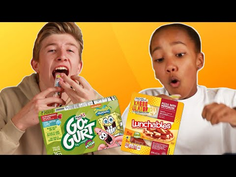 Teens Try Snacks From The '90s