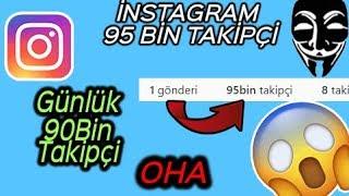 İNSTAGRAM 95K TAKİPÇİ HİLESİ