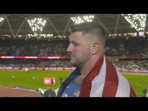 WCH 2017 London - Joe Kovacs USA Shot Put Silver