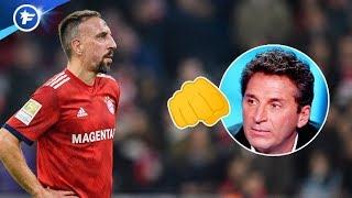 Franck Ribéry a giflé un consultant TV français après Dortmund-Bayern  | Revue de presse