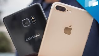 iPhone 7 / 7 Plus vs Samsung Galaxy Note 7