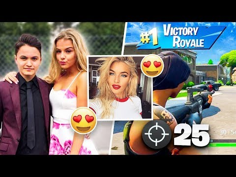 IF YOU WIN, I Will be Your NEW GIRLFRIEND (Fortnite Challeng