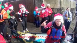 Liverpool Canoe Club Christmas Paddle at the Docks 2016