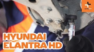 Come sostituire Ganasce per freni a tamburo HYUNDAI ELANTRA Saloon (HD) - video gratuito online