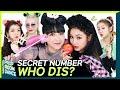 SECRET NUMBER - WHO DIS?   PROP ROOM DANCE   세로소품실