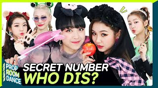 SECRET NUMBER - WHO DIS? | PROP ROOM DANCE | 세로소품실