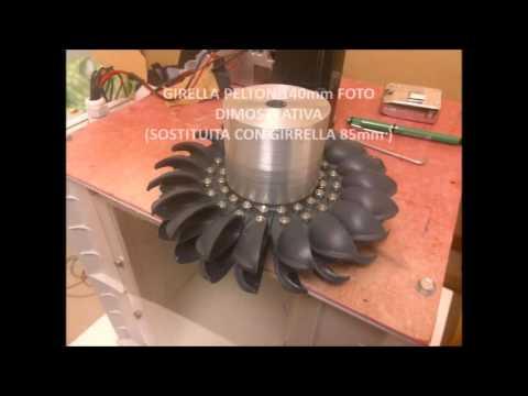 Turbina idroelettrica e impianto fotovoltaico per baita for Turbine eoliche domestiche