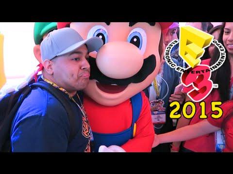I F#%KING MET MARIO! [E3 2015]