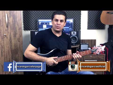 Como fazer solo usando todo braço da guitarra (iniciante) - Ricardo Garcia