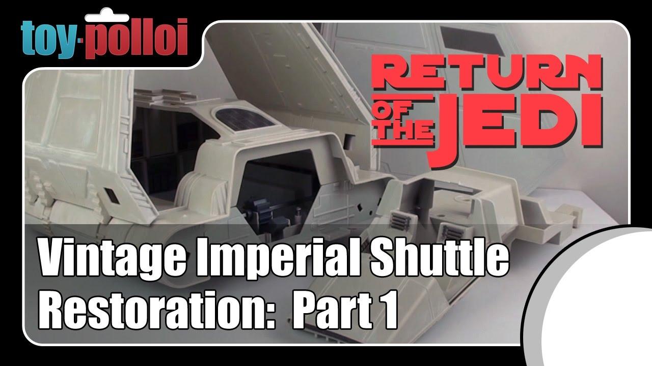 Fix it guide - Vintage Star Wars Imperial Shuttle restoration - part ...