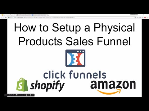 Free ClickFunnels Physical Product Sales Funnel (Step-By-Step Walk Through for Beginners)