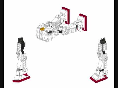 How To Build A Lego Gundam Instructions