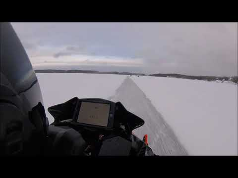 147mph Turbo Dynamics yamaha Sidewinder trail sled on race fuel