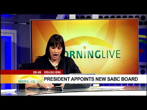 President appoints new SABC board