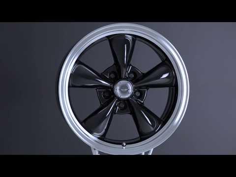 American Racing Gloss Black Torq Thrust M 1-Piece Wheel