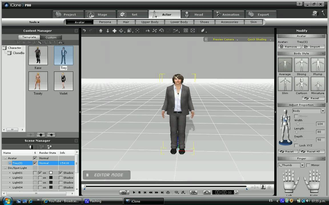 Iclone es un software para hacer peliculas en 3d youtube for Architetto 3d gratis