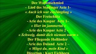 Kurt Moll   Der Waffenschmied    Der Freischütz   Der Fliegende Holländer