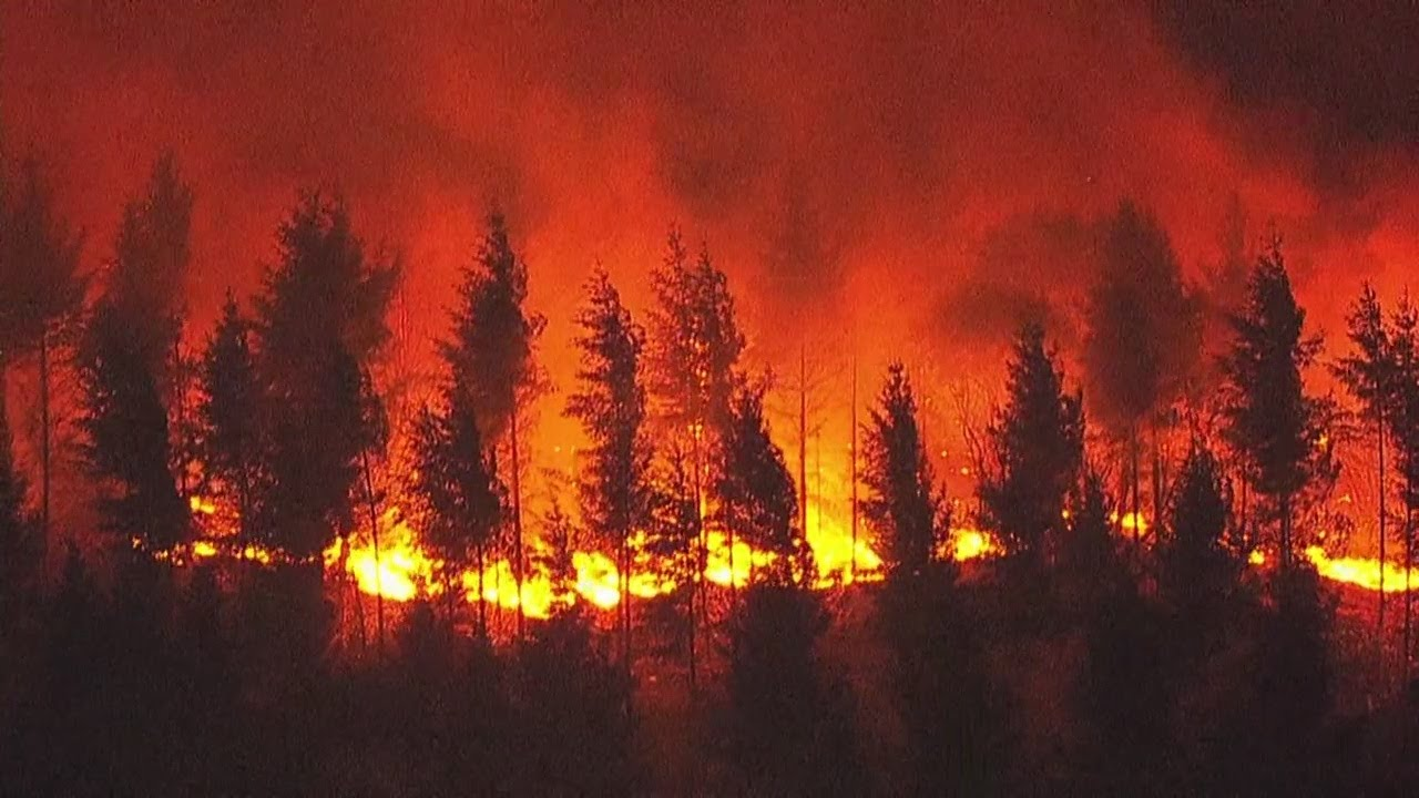 News Update: Fires force 3 Oregon counties to declare state of emergencies,  Hundreds of people seek - YouTube