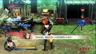 Sengoku Basara 3: Utage - Matsunaga Gameplay 1