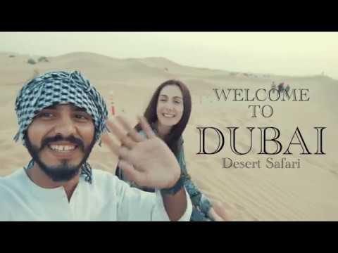 Dubai Desert Safari   Cinematic Vlog   Umair Imtiaz