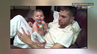 Parents Pull Feather From Baby