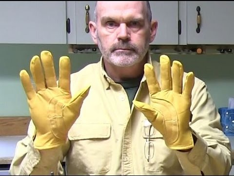 Choosing and Caring for Work Gloves Tool Tip #12