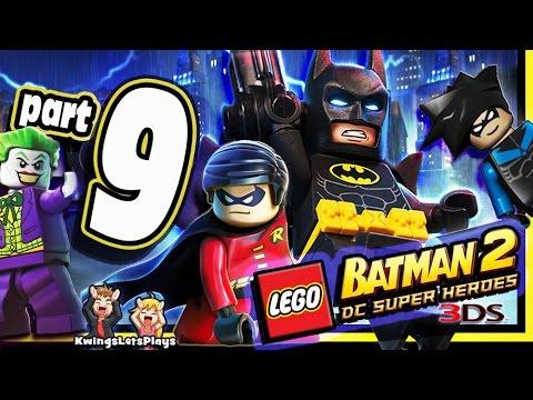 LEGO BATMAN 2 3DS Walkthrough Part 9 Lexcorp