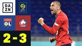 Yilmaz dreht die Partie! Lille bleibt an der Spitze: Lyon - Lille 2:3 | Ligue 1