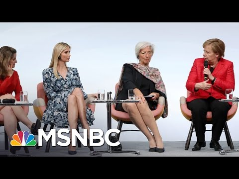 Thumbnail: Ivanka Trump Gets Booed Defending Her Father's Record On Women | The 11th Hour | MSNBC