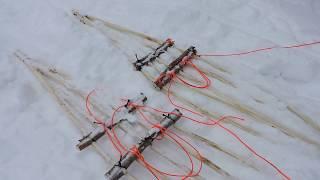 Bushcraft Snowshoes and Sticks - 12 Week Bushcraft Challenge