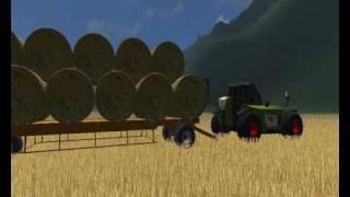 Landwirtschafts Simulator 2009.Claas.John Deere.New Holland.Fliegl.Case IH.Rolland