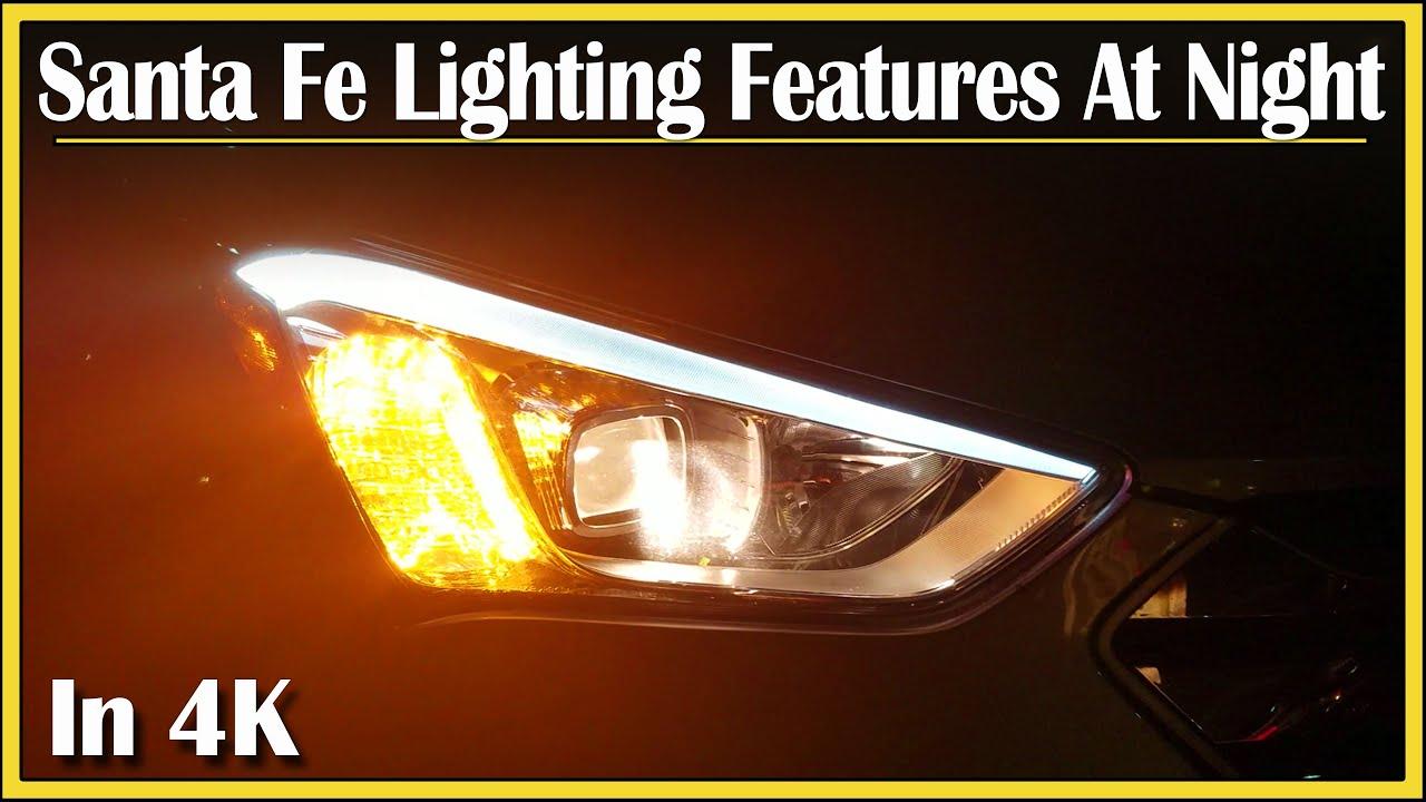 2014 Hyundai Santa Fe >> 2013 - 2016 Hyundai Santa Fe Sport | Exterior Lighting Features: DriveAndBeDriven NightTime ...