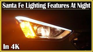 2013 - 2016 Hyundai Santa Fe Sport | Exterior Lighting Features: DriveAndBeDriven NightTime Clips