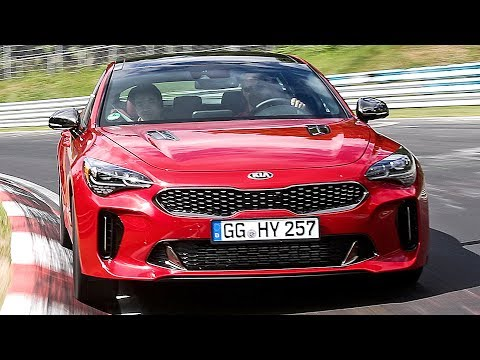 Kia Stinger (2018) Test and Development [YOUCAR]