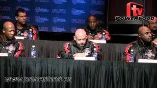 Mr. Olympia 2013 - Press Conference