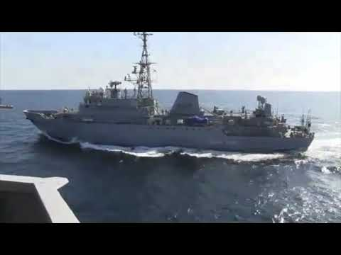 USS Farragut (DDG 99) Confrontation With Russian Navy Ship