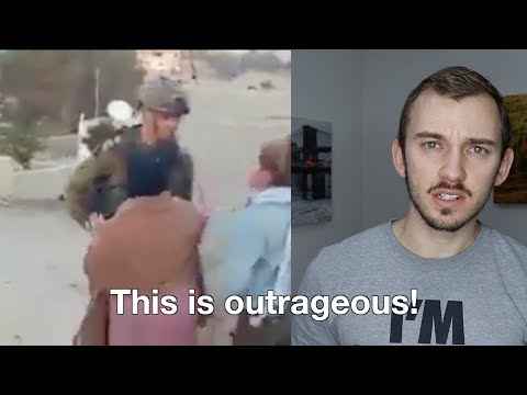 Reaction To Viral Anti-Israel Video in Hebron