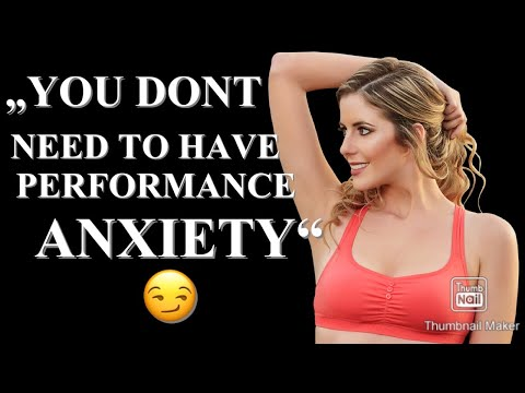 How To Overcome Sexual Performance Anxiety As A Men from YouTube · Duration:  2 minutes 2 seconds